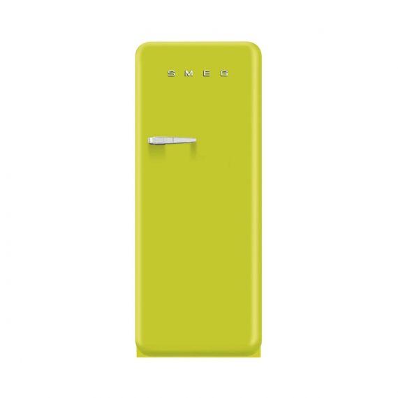 """Smeg 24"""" Lime Green 50's Retro Design Refrigerator"""