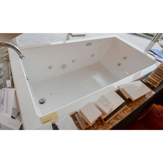 Mirabelle Sitka Acrylic Drop In Tub w/ Jets
