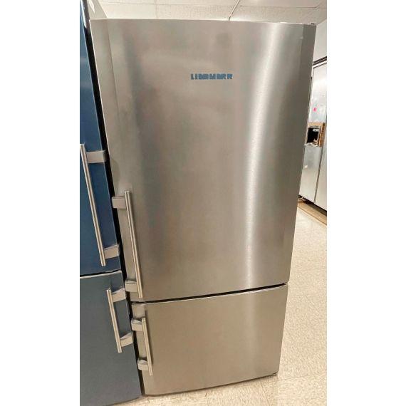 """Liebherr 30"""" Stainless Bottom Freezer Refrigerator 2018"""