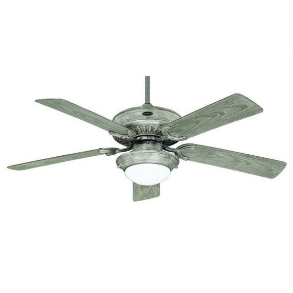 """Oasis 52"""" Indoor/Outdoor Driftwood Ceiling Fan"""