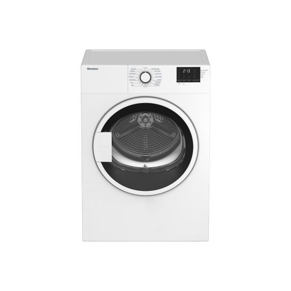 """Blomberg 24"""" Electric White Dryer"""
