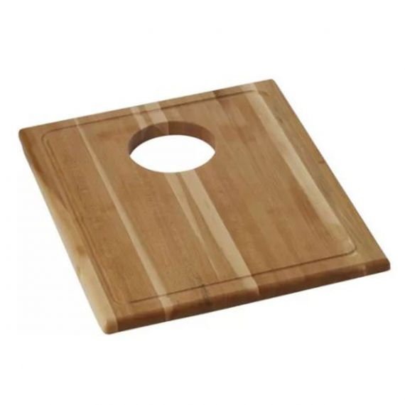 Elkay Rectangular Dark Hardwood Cutting Board