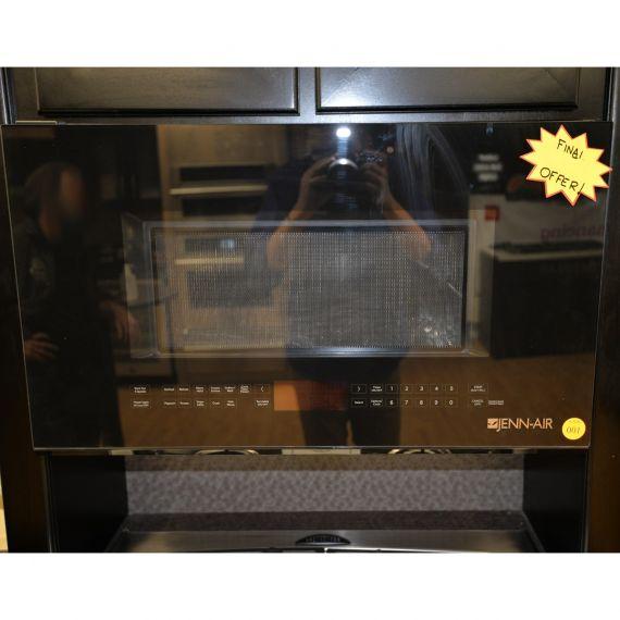 "Jennair 30"" Black Over the Range Microwave"