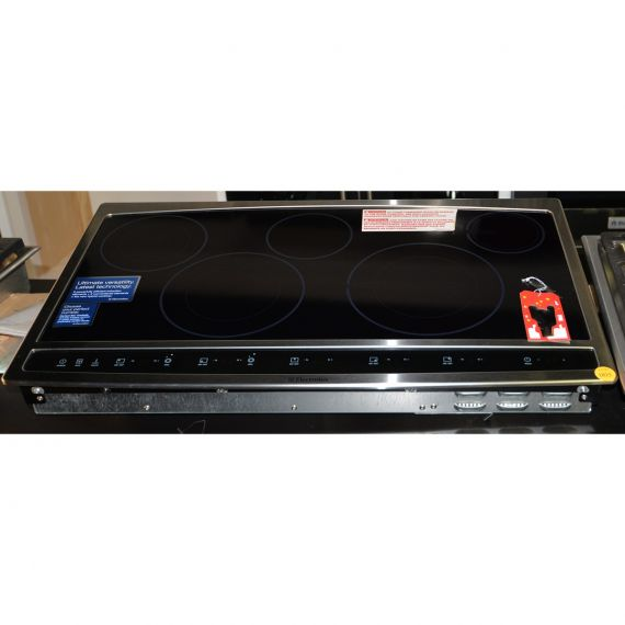 """Electrolux 36"""" Stainless 5 Burner Induction Cooktop"""