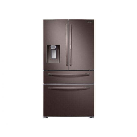 """Samsung 36"""" Tuscan Stainless 4-Door French Door Refrigerator"""