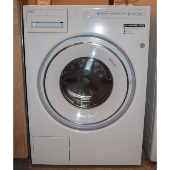 """Asko 24"""" White Front Load Washer"""
