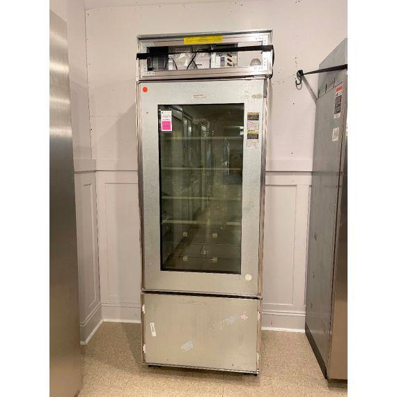 """Sub-Zero 30"""" Panel Ready Bottom Freezer Refrigerator W/ Glass Door"""