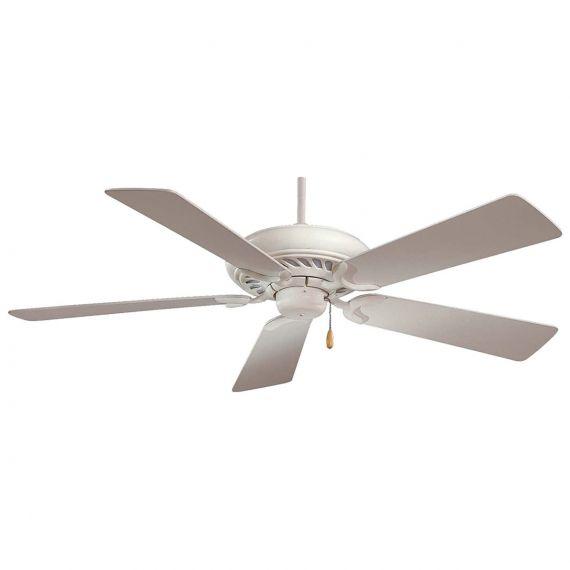 "Minka-Aire Supra 52"" Shell White Ceiling Fan"