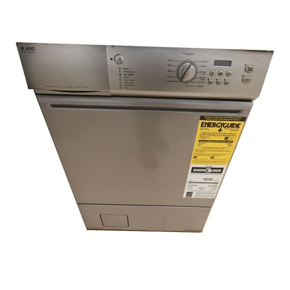 """Asko 24"""" Gray Electric Washer"""