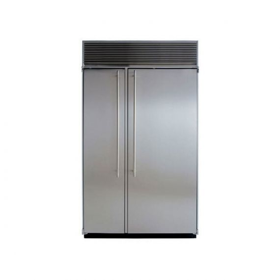 """Marvel 48"""" Stainless Side X Side Refrigerator"""