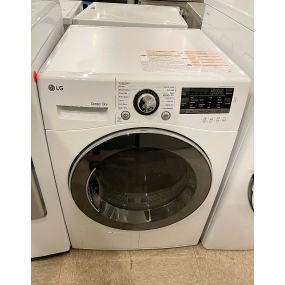 """LG 24"""" White Electric Smart Front Load Dryer"""