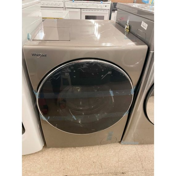 """Whirlpool 24"""" Cashmere Electric Front Load Washer & Dryer Combo"""