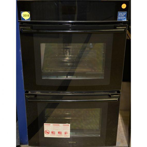 "Electrolux 30"" Black Double Convection Oven"