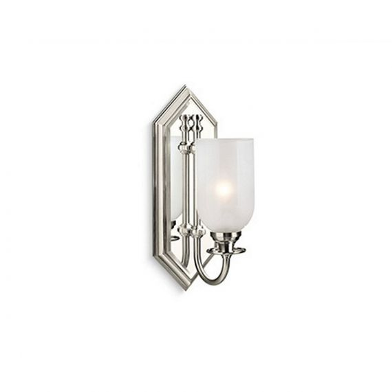 Kallista Inigo Nickel Silver Wall Sconce