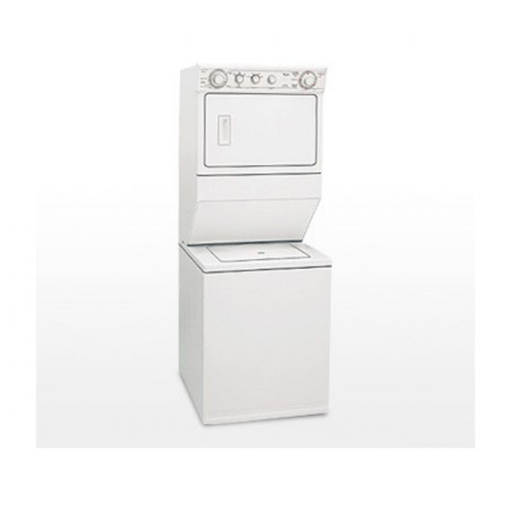 "Whirlpool 27"" White Electric Laundry Center"
