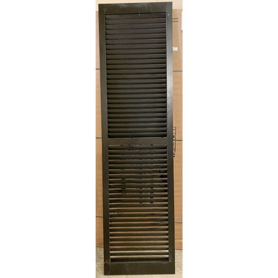 Black Stained Shutters