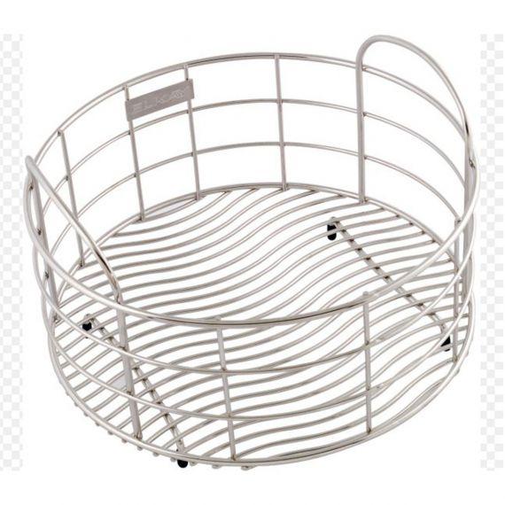 """Elkay 11"""" Stainless Round Rinsing Basket"""