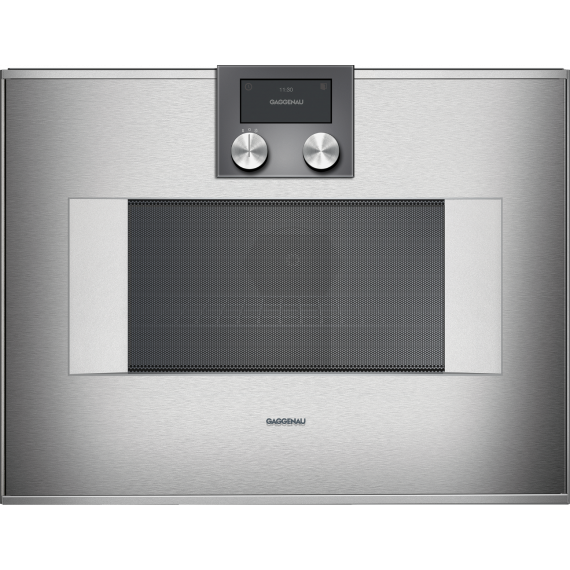 """Gaggenau 24"""" Stainless Built-In Combi-Microwave Oven"""