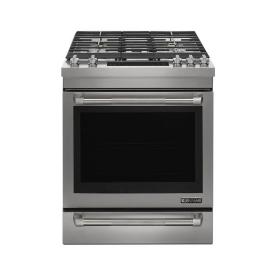 """JennAir 30"""" Stainless Dual Fuel Pro-Style Range w/ Convection"""