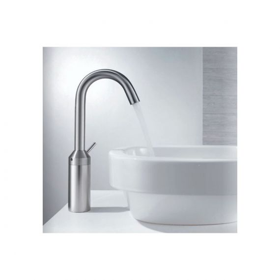 KWC Disko Stainless Single Lever Washbasin Mixer