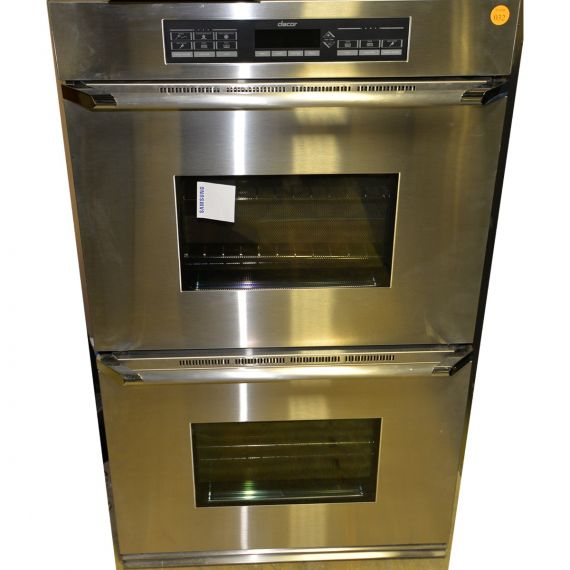 """Dacor 30"""" Stainless Double Convection Oven"""