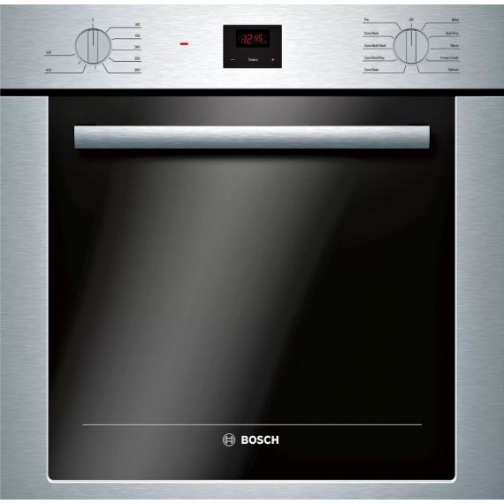 """Bosch 24"""" Stainless Electric Single Wall Oven 2019"""