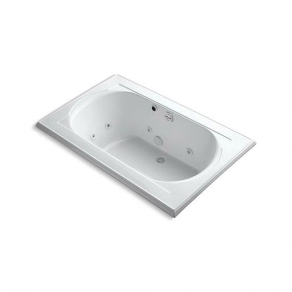 Kohler Whirlpool Drop-In Tub w/ End Drain & Heater