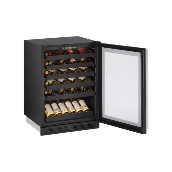 """U-Line 24"""" Panel Ready Under-Counter Wine Storage"""