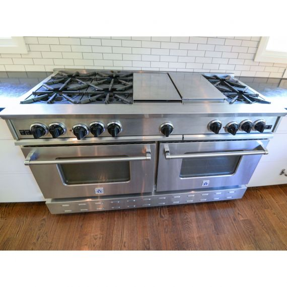 """Blue Star RNB 60"""" Stainless Pro-Style Gas Range"""