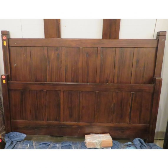 Pottery Barn Full-Size Wood Bed Frame