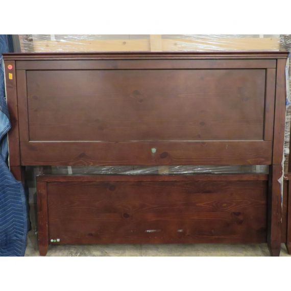 Pottery Barn Queen-Size Wood Bed Frame