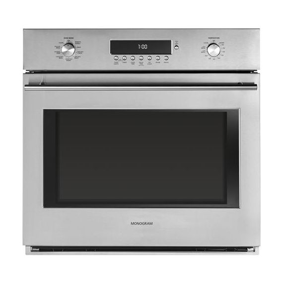 """GE Monogram 30"""" Stainless Single Wall Oven w/ Convection"""