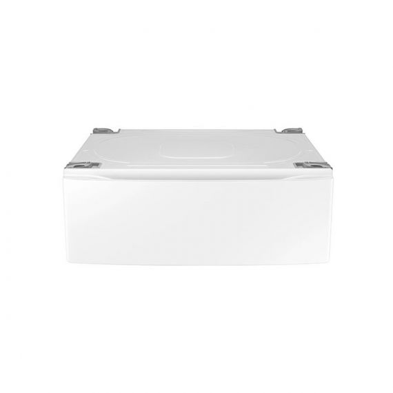 "Samsung 30"" White Laundry Storage Pedestal"