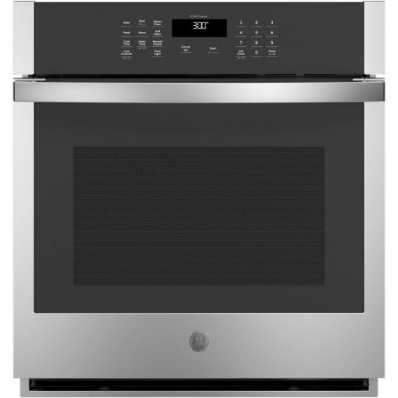 """GE 27"""" Stainless Built-In Single Wall Oven"""