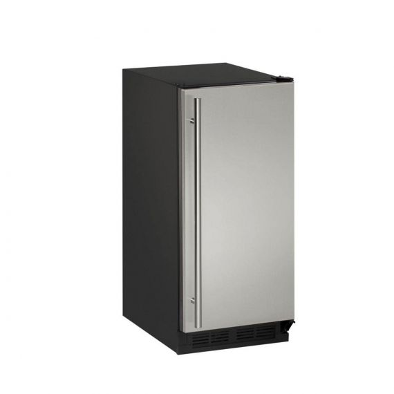 """U-Line 15"""" Stainless Under-Counter Ice Maker"""