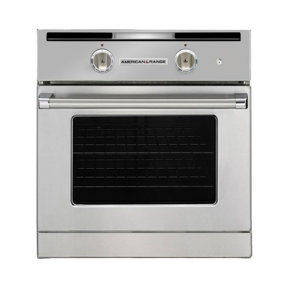 """American Range 30"""" Stainless Single Chef Door Gas Wall Oven"""