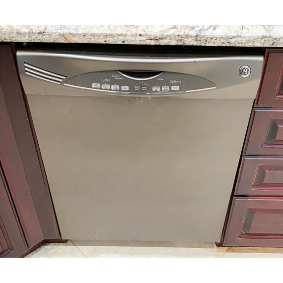 "GE 24"" Built-In Slate Dishwasher"