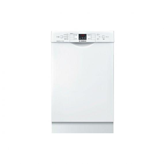 "Bosch 18"" White Full Console Dishwasher"
