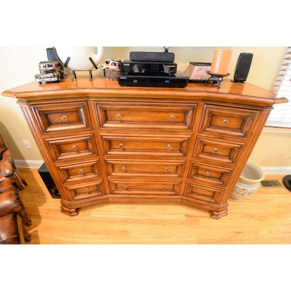 Century Destinations Wooden 12 Drawer Dresser
