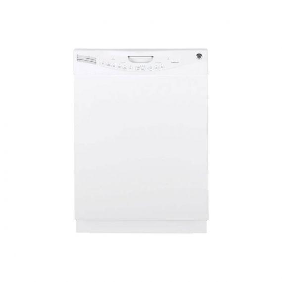 """GE 24"""" White Full Console Dishwasher"""