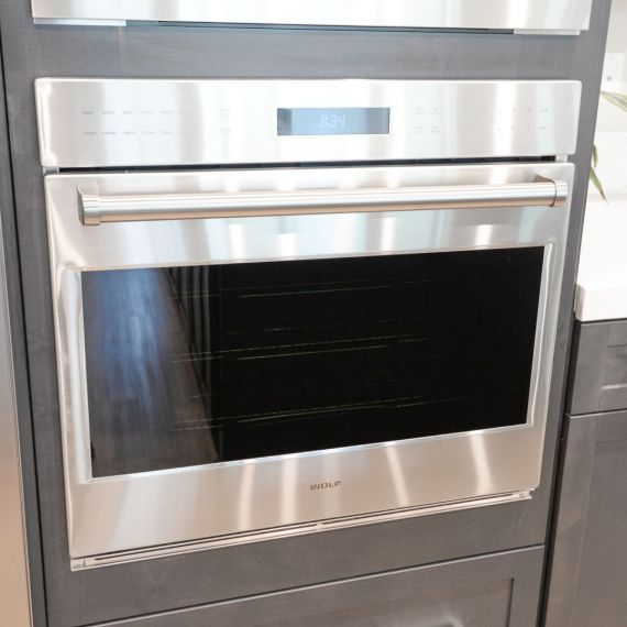 """Wolf 30"""" Stainless Single Wall Oven"""