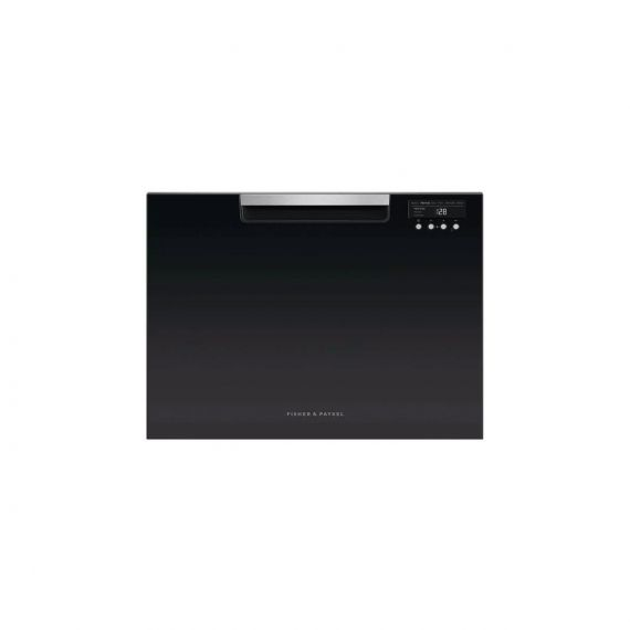 """Fisher & Paykel 24"""" Black Full Console Dishwasher Drawer 2020"""