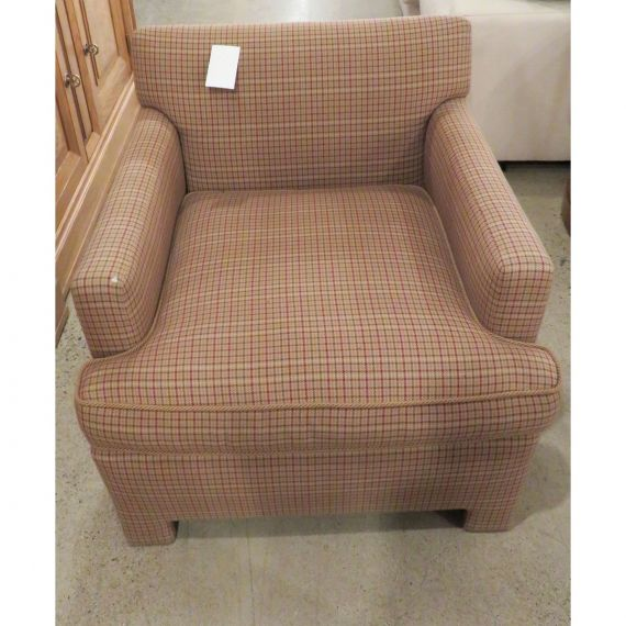 Twill Patterned Armchair