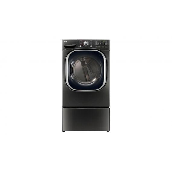 "LG 27"" Black Stainless Gas Steam Dryer"