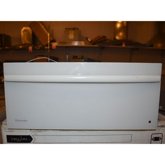 "Thermador 24"" White Warming Drawer"