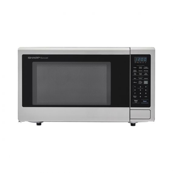 """Sharp 24"""" Stainless Countertop Microwave"""