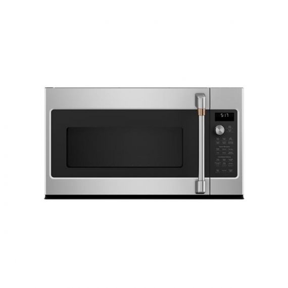 """GE Café 30"""" Stainless Over the Range Microwave Oven w/ Convection"""