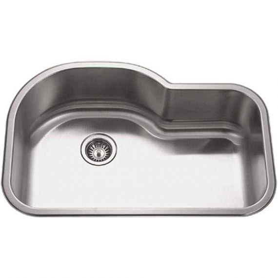 Houzer Medallion Series Stainless Under-Mount Kitchen Sink