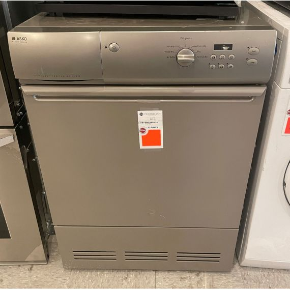 """Asko 24"""" Silver Front Load Electric Dryer 2004"""