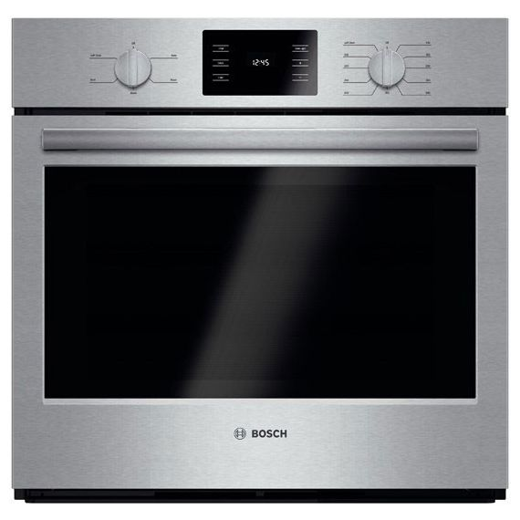 """Bosch 30"""" Stainless Single Electric Wall Oven"""
